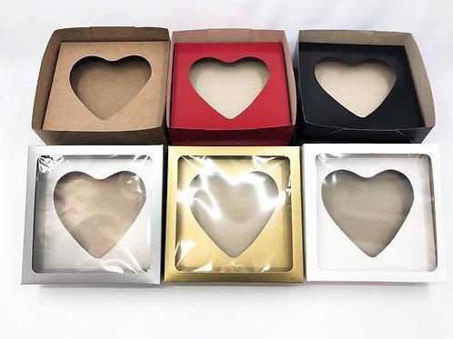 Caixas De Presente VC20: 20x20x6cm - Berço coração  500g ( 20 unid)