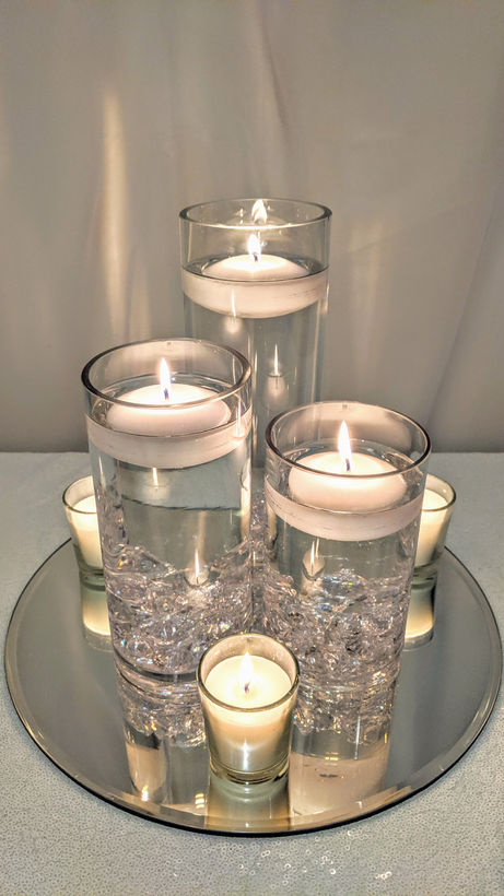 Glass Cylinder Trio