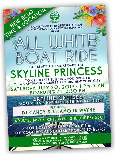 Fundraising Boat Ride