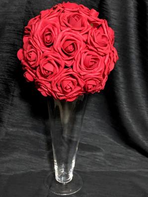 Foam Rose Ball - Customizable