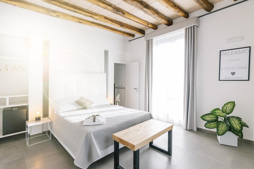Zimmer mit Kindsize Bett