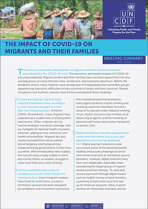 Impact of COVID-19 on Migrants and their Families
