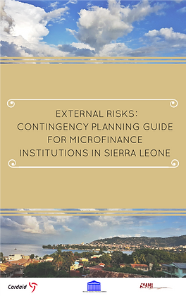 Contingency Planning Guide for MFIs