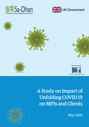 A Study on Impact of Unfolding COVID 19 on MFIs and Clients