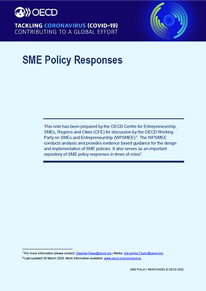 OECD SME Policy Responses