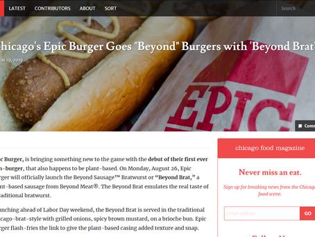 Chicago Food Magazine: Beyond Brat
