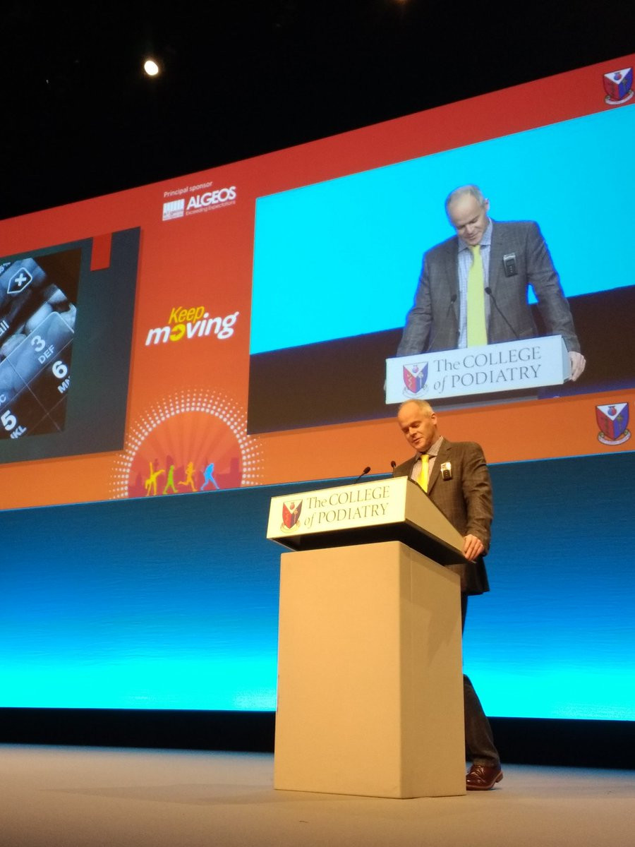 ivan bristow podiatrist at conference
