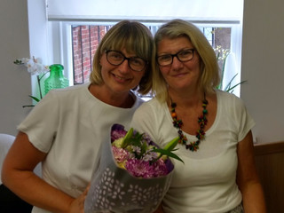 Goodbye to Jacky, our receptionist