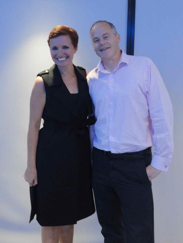 Dr Pixie McKenna with Ivan