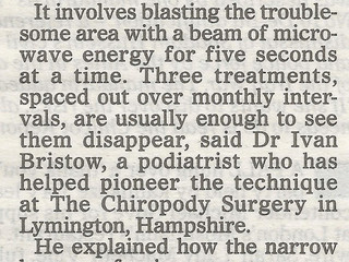 Mail on Sunday Article