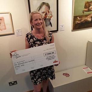 Louise Saward Winner 2019