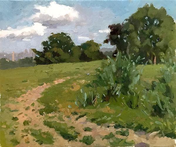 Carole NATAF-Hampstead-25.4 x 30.48 cm -