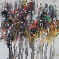 Veselé stromečky, 40x30