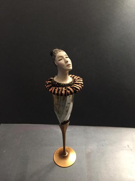 Pohár 6, alpaka, keramika