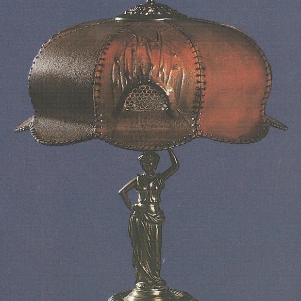 Lampa secesní