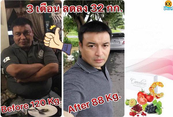 Caroline,ลดน้ำหนัก,ลดความอ้วน,ลดหน้าท้อง,ลดพุง