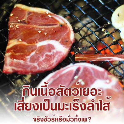 อาหารประเภท ปิ้ง ย่าง อันตรายต่อสุขภาพมาก ตรงส่วนที่ไม้เกรียมสีดำๆ นั่นแหละสุดอันตราย เพราะนั่นคือ สารก่อมะเร็ง ปัจจุบันคนไทยมีอัตราการเสียชีวิตจาก โรคมะเร็งลำไส้ เป็นอันดับหนึ่งของเอเชีย เพราะคนไทยเราชอบรับประทานอาหารประเภท ปิ้ง ย่าง เนื้อย่างเป็นอาหารที่ย่อยยาก ดังนั้นเมื่อทานเข้าสู่ร่างกายแล้วก็จะไปอยู่บริเวณลำไส้ใหญ่ และเราต้องยอมรับว่า ไม่มีใครสามารถขับถ่ายออกได้หมด ในที่สุดก็จะสะสมสิ่งสกปรกไว้ในร่างกายและกลายเป็นสารพิษที่มาทำร้ายคุณในที่สุด โรคร้ายที่อาจคาดคิดไม่ถึงก็จะเกิดขึ้น นั่นคือ มะเร็งลำไส้ ดังนั้น คุณควรอย่างยิ่งต้อง ดีท็อก เพื่อล้างสารพิษต่างๆ ในลำไส้ให้สะอาด ดีท็อกซ์ มีประโยชน์ต่อร่างกายคุณหลายอย่างมาก ทั้งยังช่วยให้คุณ ลดน้ำหนัก หรือ ลดความอ้วน เห็นผลดียิ่งขึ้นเพราะ ลำไส้สะอาดก็จะดูดซึมสารอาหารต่างๆ ได้ดี ระบบขับถ่ายก็ดี นั่นเอง