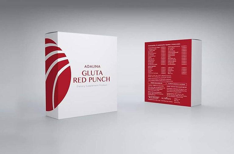 Adalina Gluta Red Punch,อดาลีน่า กลูต้า