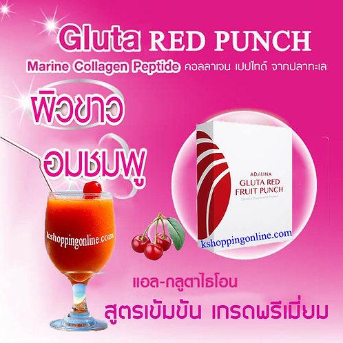 GLUTA RED FRUIT PUNCH เพื่อ ผิวขาวใส ลดริ้วรอย ลดจุดด่างดำ ช่วยให้ ผิวกระจ่างใส