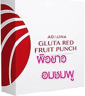 Gluta Red Fruit Punch,กลูต้า,ผิวขาวใส,ผิ