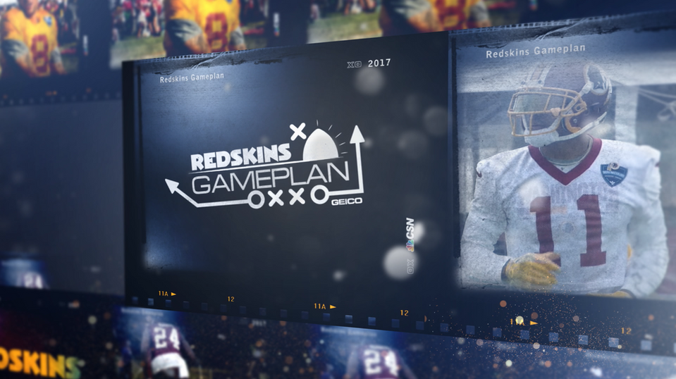 NBC Sports - Redskins GamePlan Graphics Package