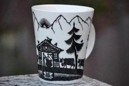 Mug, motif poya