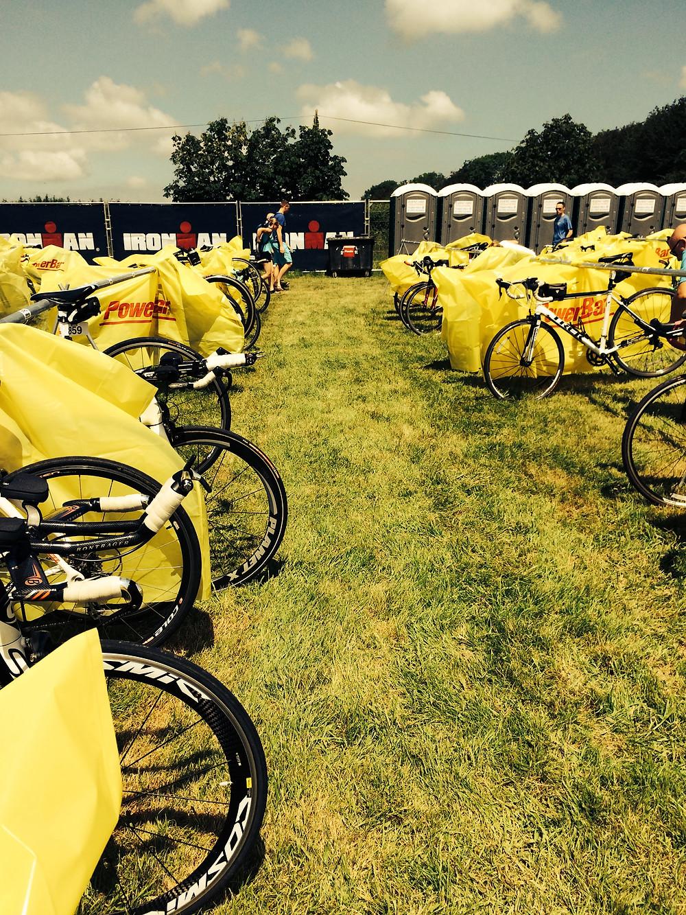 Physiotherapy triathlon transition bike