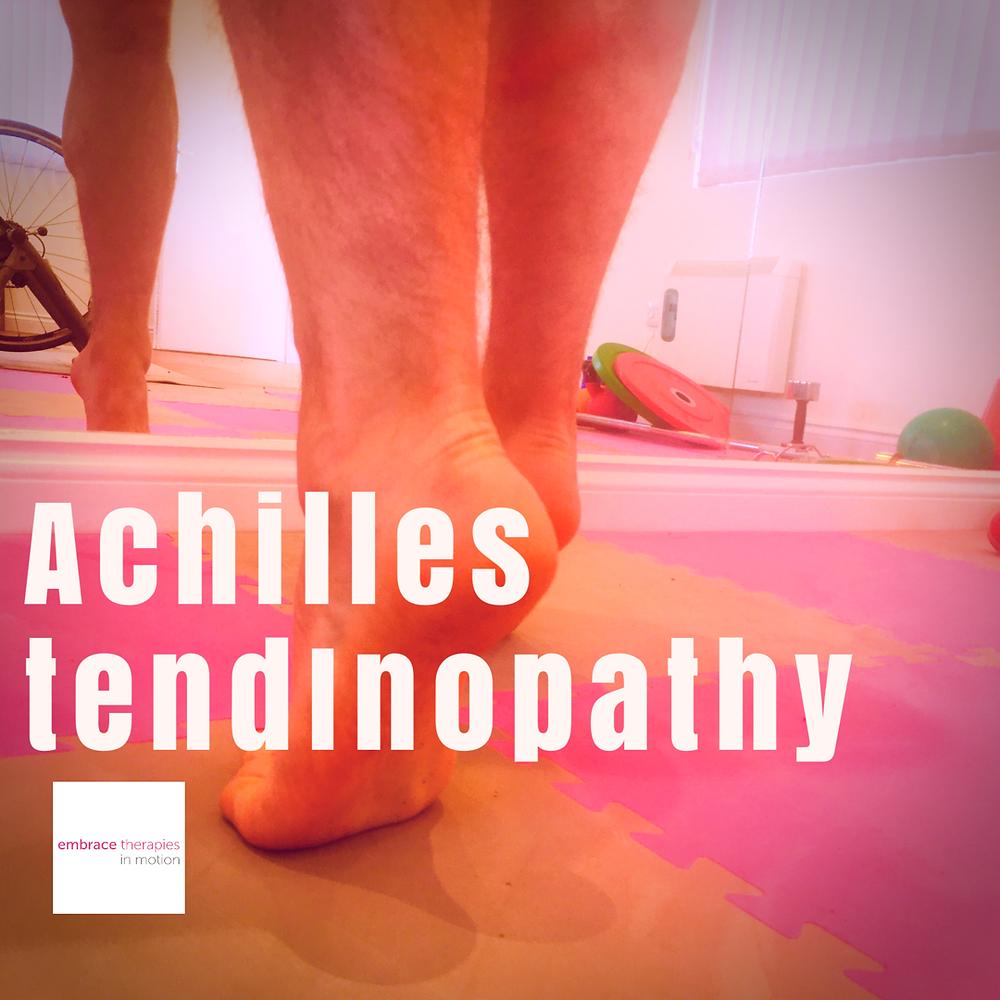 Achilles tendon pain rehabilitation