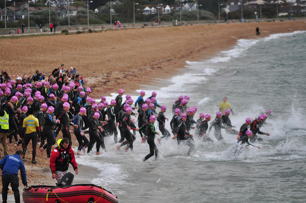 Physio and triathlon swim