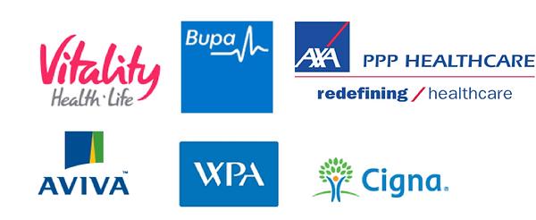 Private Medical Insurance Logos