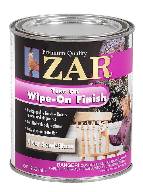 Смесь тунгового масла и полиуретана - ZAR Tung Oil Wipe-On Finish 0.946L