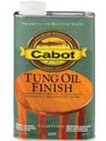 Cabot Tung Oil Finish - Тунговое масло 0,946ml