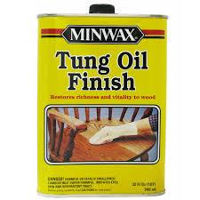 Тунговое масло от производителя Minwax