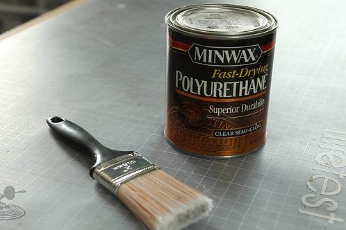 Полиуритановый лак для пола, мебели, фурнитуры - Minwax Fast-Drying Polyurethane