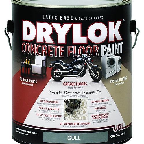 Краска для пола в гараже Drylok Latex Concrete Floor Paint