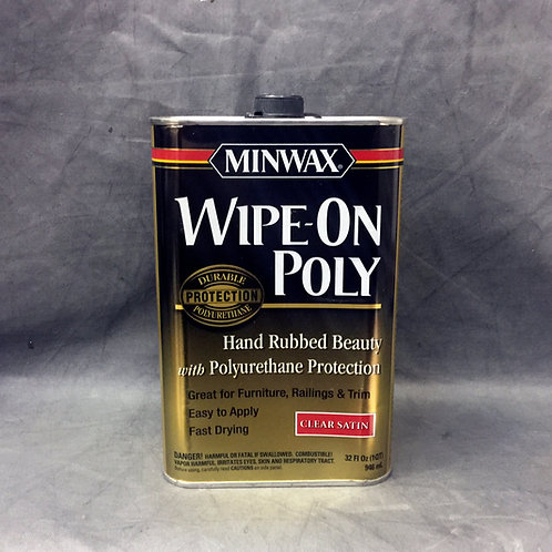 Лак и полироль в одном продукте - Minwax Wipe-On Poly