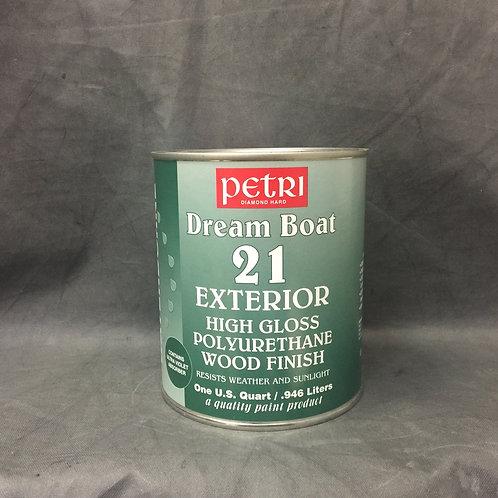 Водный лак Петри для внутренних и наружных работ - Petri Dream Boat
