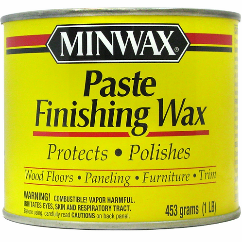 Защитное восковое покрытие для дерева - Minwax Paste Finishing Wax