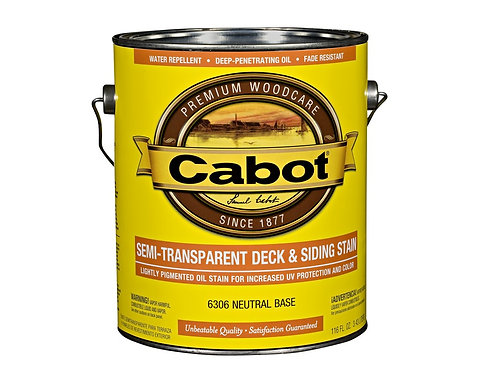 Cabot Semi-Transparent Deck & Siding Stain 0,946 m