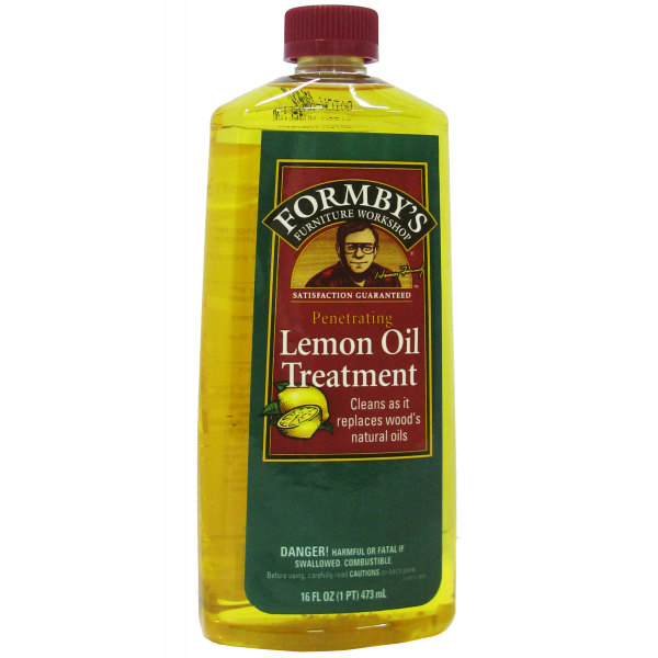 Лимонное масло Lemon Oil Treatment Formby's