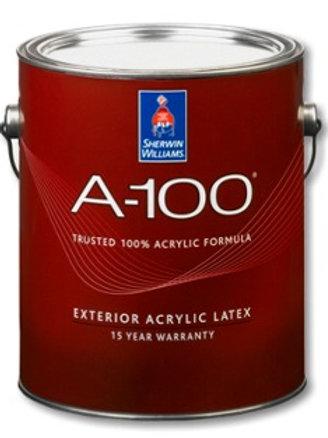Краска для фасадных работ со сроком службы от 15 лет - А-100 Exterior Latex Flat