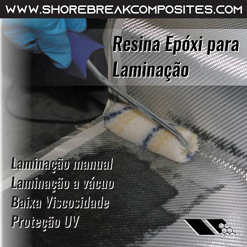 Kit Resina Epóxi N190/N74 1,5kg (1+5)