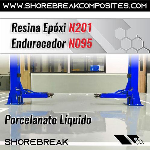 Kit Resina Epóxi N201/N095 1,5kg (1+0,5)