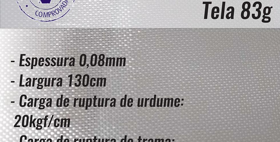 Rolo Tecido WR83  0,09mm esp. Tela 1,30cm x 100m