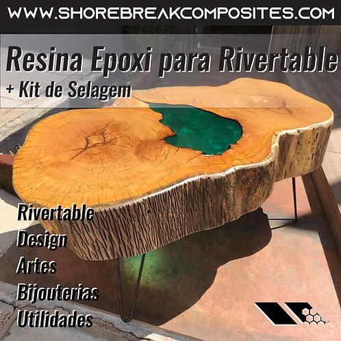 Kit Epóxi Madeira+Selagem - total 8,5kg 7kg(5+2)1,5kg(1+0,5)