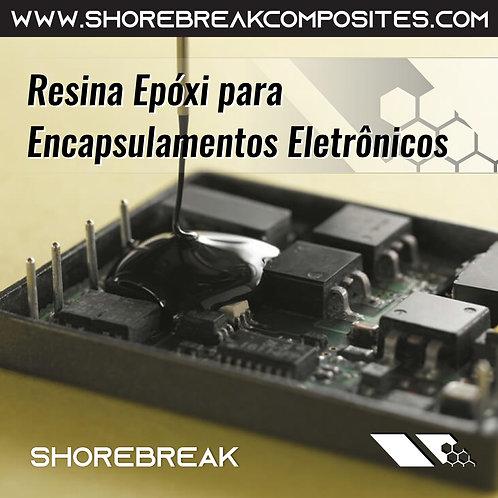 Kit 1,5kg Resina Epóxi Encapsulamentos Eletrônicos