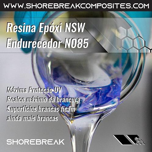 Kit 7,5kg Resina Epóxi NSW super branca (5+2,5)