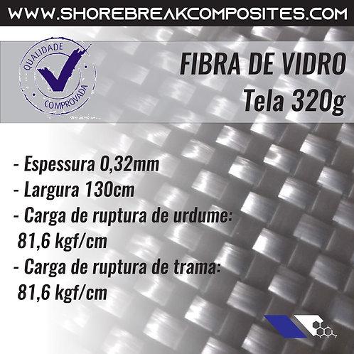 Rolo Tecido WR326-1,30 326 g/m² espessura 0,32mm, 1,30m x 100m
