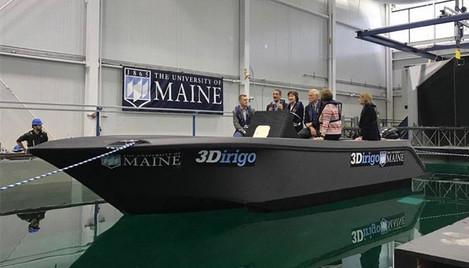 3D列印與大型產業:72小時列印8m遊艇創世界紀錄
