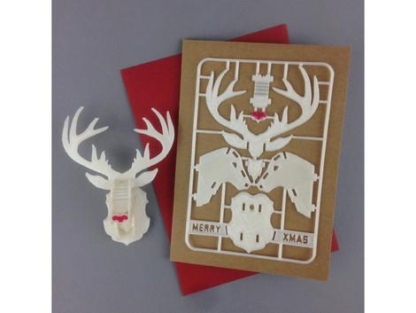 聖誕節快樂!寄給朋友3D列印的禮物吧!